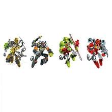 ROCKA BULK Hero Factory 3.0 Series Furno Bulk Diy Blocks Collection Compatible Sermoido Bionicle Robot Model Toys For Kids Gift