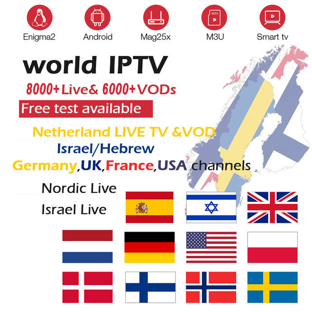 IPTV Xxx Channels TV Box Europe Sweden Arabic French Italy UK Swisss Iptv Subscription Adult Iptv M3u Smart Tv Box