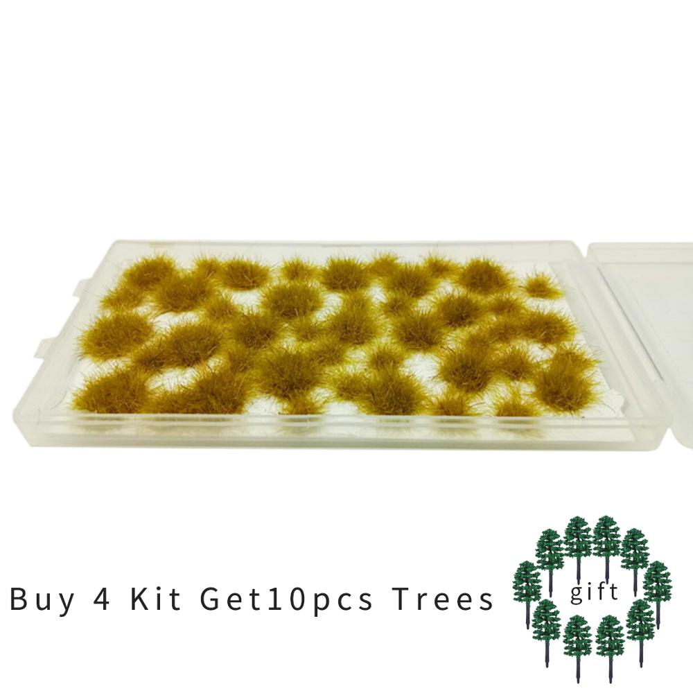 1:35 1:48 1:72 1:87 Updated Version Irregular Topographic Grass For Model Scene Model Building Kits- Dry Yellow
