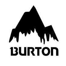 16*15.7cm Burton Mountain Ski Snowboards Vinyl Funny Car Window Bumper Novelty JDM Drift Vinyl Decal Sticker