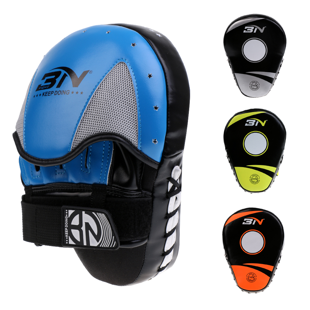 High Density Foam Padding Target MMA Boxing Mitt Focus Punch Pad Training Glove Karate Muay Thai Pad