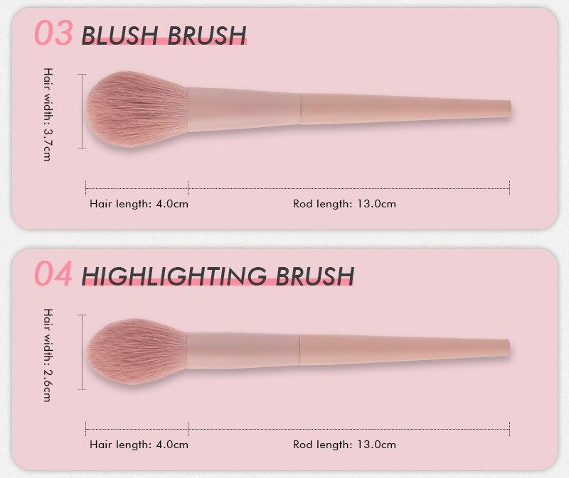 escova sobrancelha kit ferramenta portátil cosméticos