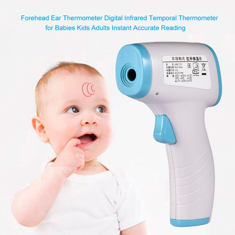 Body Forehead Infrared Thermometer Temperature Thermometer Non Contact for Fever