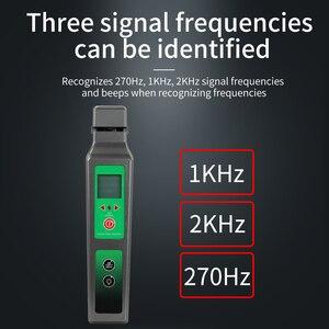 Image 5 - KFI 40 canlı Fiber optik tanımlayıcı Komshine KFI 40 LED ekran ile tanımlama yönü break checker FTTH test aracı
