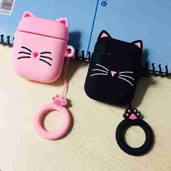 For airpods Pro For airpods 1/2 Case Cute Cat Cartoon Lovely silicon Protective Cover For air pods Pro 3 Wireless Earphone Case 3d minions earphone case for airpods pro case cute soft silicone wireless for airpods pro case cover cartoon protective cover