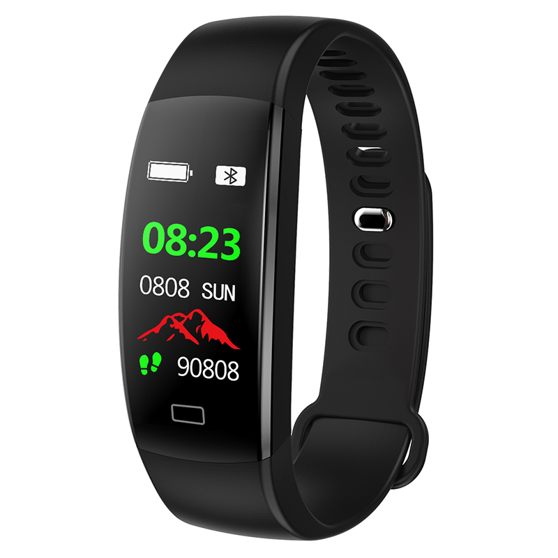 F64 Smart Bracelet Waterproof Heart Rate Monitor Men Women Smart Band Alarm Clock Sports Watch SmartWatch For Android IOS Phone Pakistan