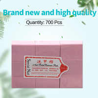 700pcs Lint-Free Wipes Napkins for Nail Polish Remover Cotton Pad Nail Wipe Napkins Manicure Pedicure Gel Tools