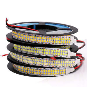 480Leds/m SMD 2835 Led Strip Double Row Flexible Led stripe 24V 12V 5M 2400Leds 240 leds/m 1200 Leds Led Tape High Brightness