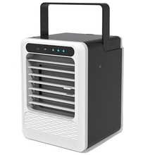 Portable Air Conditioner Fan, 3 In 1 Personal Space Air Cooler, Humidifier, Purifier, Desktop Cooling Fan Personal Table Fan Use