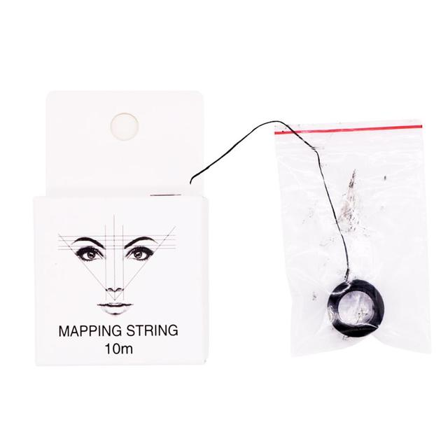 Eyebrow Measuring Tool Mapping Pre-ink String For Microblading Eyebow Make Up Dyeing Liners Thread Semi Permanent Positioning 3