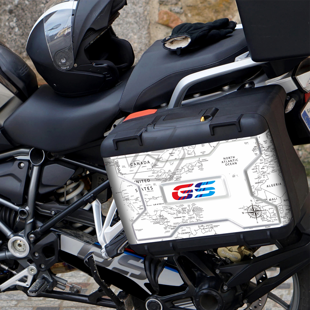 for BMW Vario 2004-2012 R1200GS R1250GS Motorcycle Saddlebag Side box Decoration Stickers Decals Protective sticker