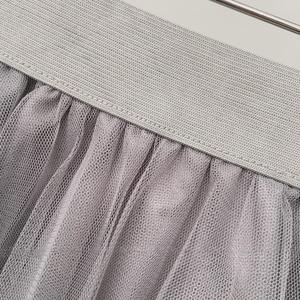 Image 5 - TIGENA Midi Pleated Tulle Skirt Women 2020 Summer A line High Waist Knee Length Tutu Skirt Female School Sun tiulowa spodnica