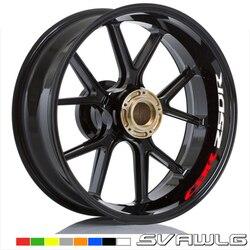 New Motorcycle tire reflective sticker creative wheel rim logo decal moto Decorative accessories For Honda CBR250R cbr 250r