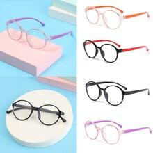 Kids Glasses Computer-Eye-Protection Anti-Blue light Children Ultra-Light-Frame Girls