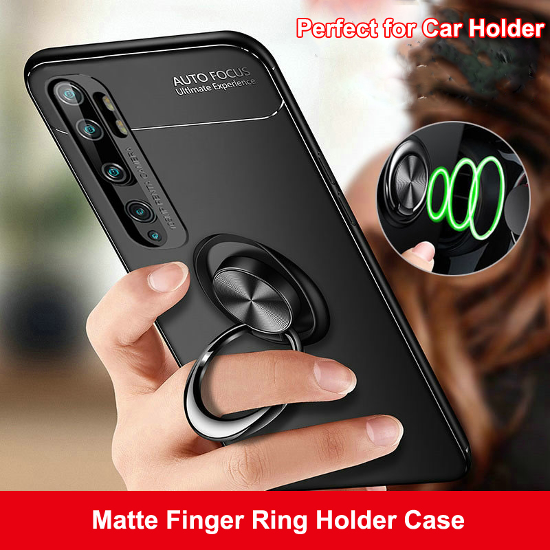 Magnetic Car Holder Case For Xiaomi Mi 9T 9 Pro 5G Lite SE CC9 Redmi K20 Pro Note 9S 10 8 7 A3 Finger Ring Bracket Soft Cover