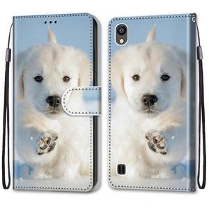 Image 3 - Cool สัตว์ Flip สำหรับใบมีด ZTE Blade 20สมาร์ท A5 A3 A7 V10 Vita 2020 A6 Lite L8 2019กระเป๋าสตางค์หมีสิงโตหมาป่าแมว