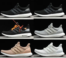 New Best Quality Ultra Boost 4.0 Core Primeknit Runner Fashion Ultraboost Running Sneaker Sports Shoes For Men Women Eur36-45(China)