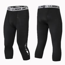 Compression Men Leggings Basketball Sweatpants Sport-Trouser Quick-Drying Running
