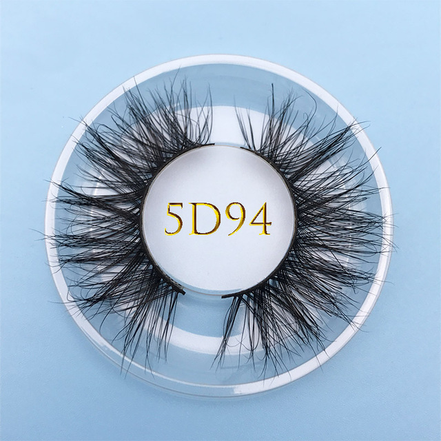 Custom box MIKIWI 24 Styles 5D soft dramatic Eye lash high volume makeup tools 100% handmade natural thick  long false eyelashes 3