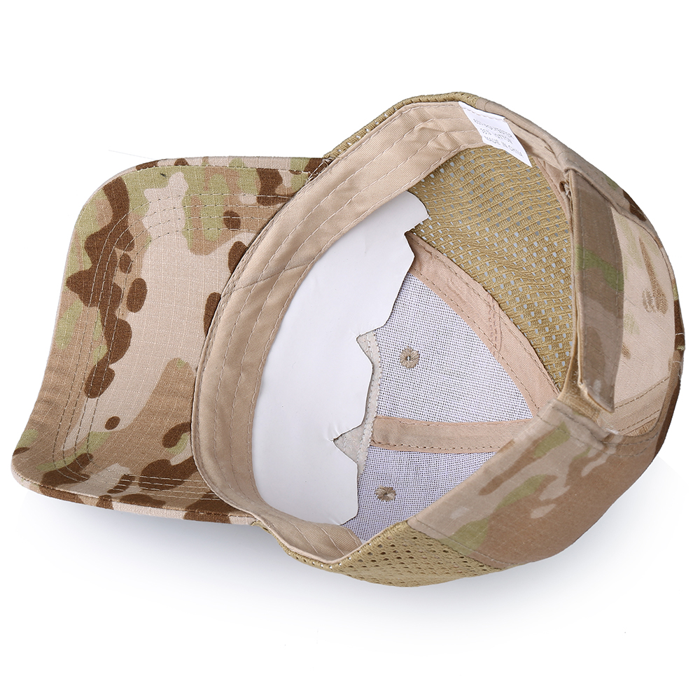 Skull Tactical Military Airsoft Cap Adjustable Breathable Sun Visor Trucker Hat Mesh Hunting Hiking Baseball Skeleton Snapback 37