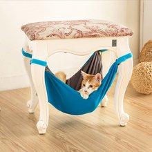 С изображением котенка одежда Удобная кровать клетка гамак для