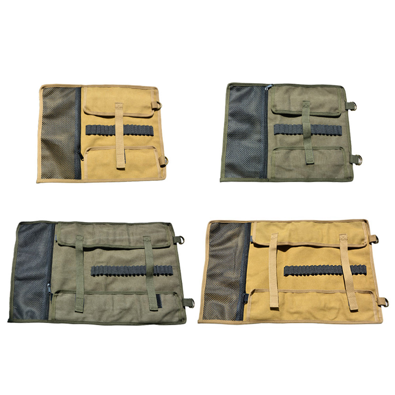 Camping Tools Storage Bag, Canvas Ground Nail Hammer Stakes Pegs Organizer