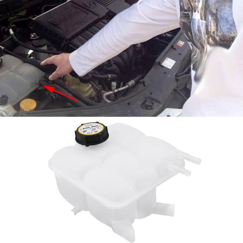 Автомобильный радиатор охлаждающей жидкости расширительный бак резервуар с крышкой для Mazda 3 2004-2012
