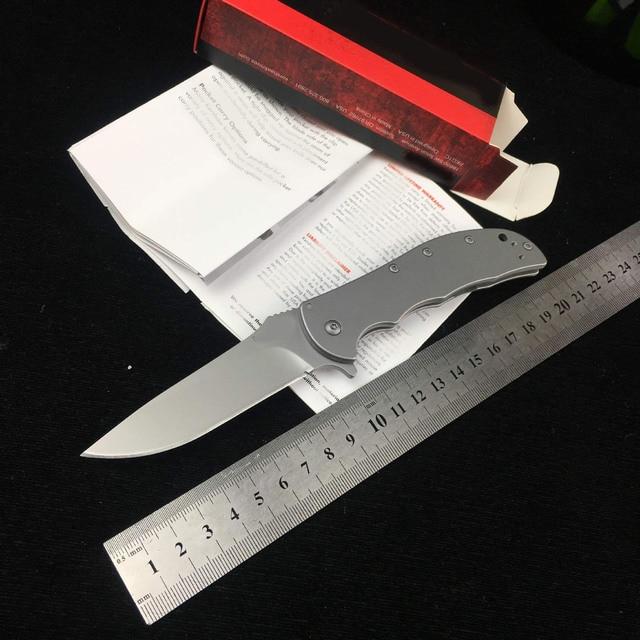 Najnowszy scyzoryk dx-grady Fung produkcja 100% OEM Kershaw SPEEDSAFE VOLT SS 3655 8Cr17MOV ostrze nóż składany