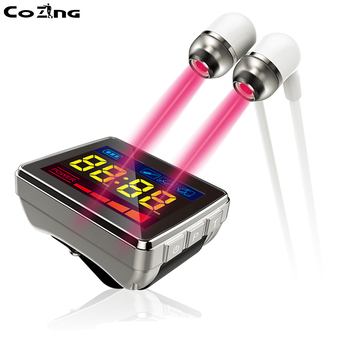 Tinnitus laser treatment / Otitis treatment infrared laser type to cure hearing problems with 650NM red laser