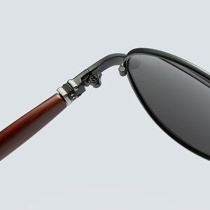 Image 5 - 2020 جديد رجل الاستقطاب النظارات الشمسية الفضة إطار معدني UV400 عدسات عاكسة النظارات مع صندوق الحجم: 62 51 136mm