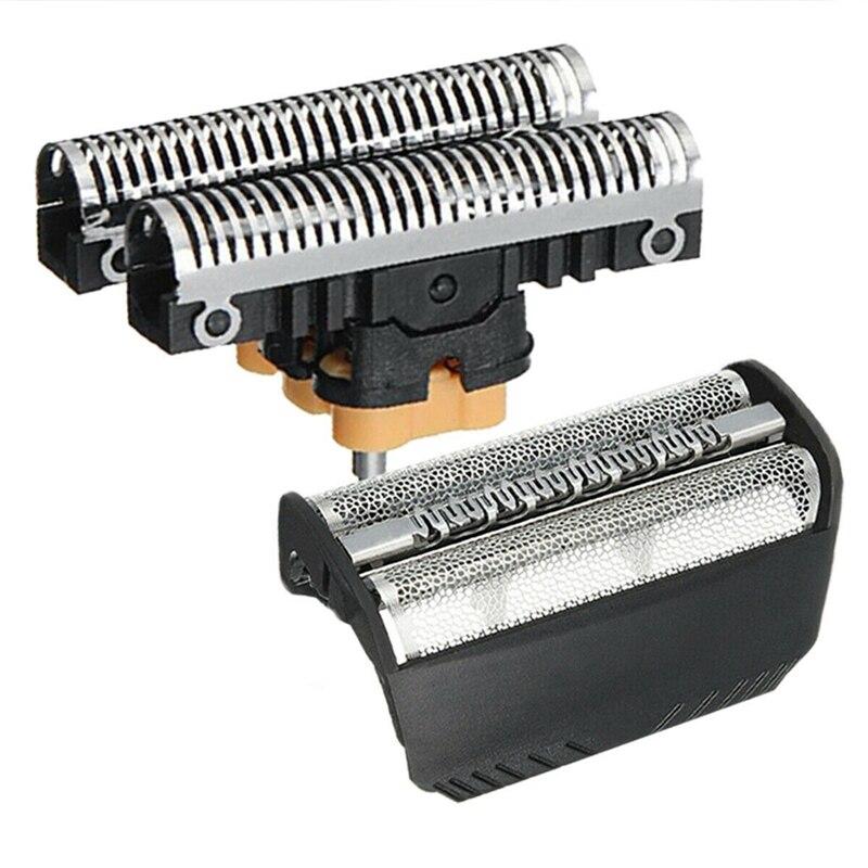 Peças para Braun Combi Pacote 330 Shaver Shear Cabeça Lâmina & Bloco 2 30b 310 Mod. 112940