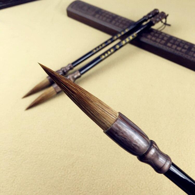 3 pçs chinês caligrafia escova caligrafia alta