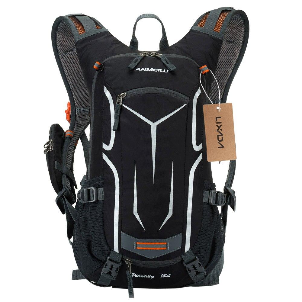 Lixada 18L sac de vélo étanche vtt sac à dos de cyclisme avec couverture de pluie respirant escalade randonnée Camping vélo sac à dos d'hydratation