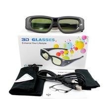 Gafas 3D, 3 unidades por lote, gafas 3D bluetooth RF activas para Proyectores Sony/Epson LCD 3D (Tw5200/Tw8515/Tw6510/Tw3020/Tw550/Tw5300)