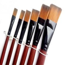 6pcs/set Artist Painting Brushes Pens Painter Students Acrylic Nylon Paint 820