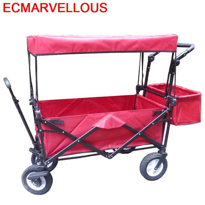 Folding Carro Plegable Cozinha Shopping De Courses Avec Roulettes Carrello Cucina Mesa Cocina Chariot Roulant Kitchen Trolley