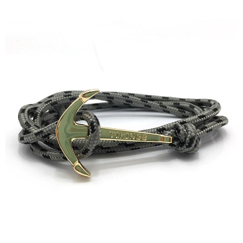 Bracelets porte-bonheur ancre Vikings  6