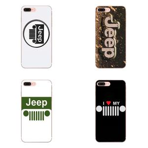 Car Jeep Logo TPU Cell Bags For Samsung Galaxy A10 A20 A30 30S A40 A50 A50S A60 A70 A70S A80 A20E A51 A71 A9 2018