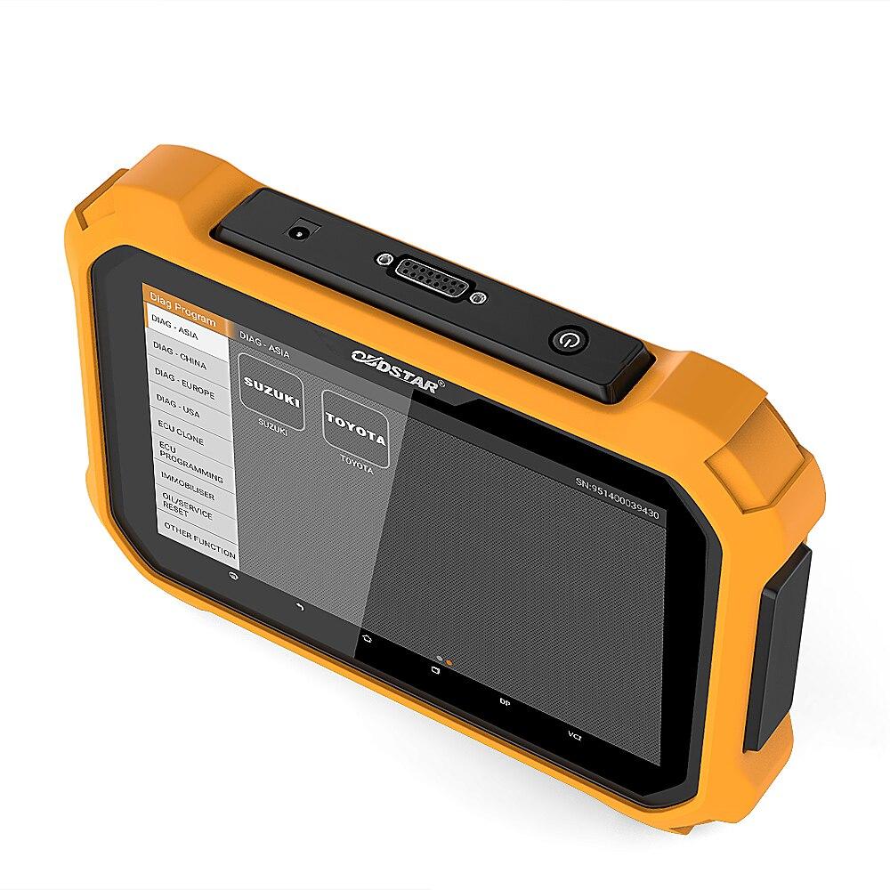 OBDSTAR X300 DP Plus Auto Schlüssel Programmierer OBD2 Scanner Kilometer Anpassung Werkzeug Auto Diagnose Pin Code Reader OBD 2 Scan werkzeug