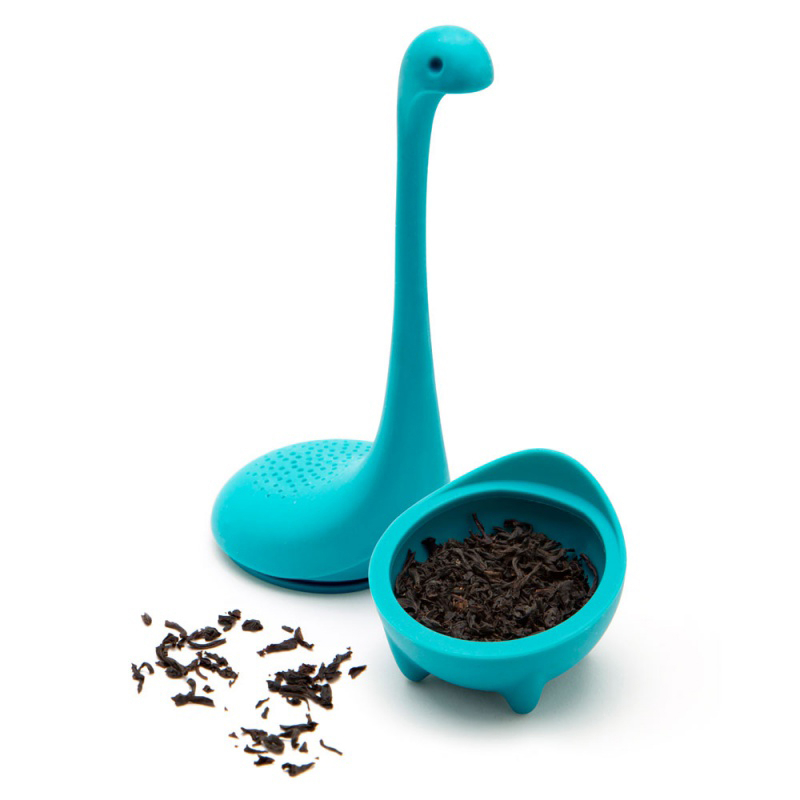Loch Ness Monster Tea Infuser Strainer Silicone Tea Filter Reusable Tea Maker Leaf Diffuser Accessories Teaware