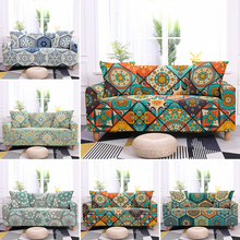 Bohemia Stretch Slipcovers Sectional Elastic Sofa Cover For Living Room Couch L shape Armchair