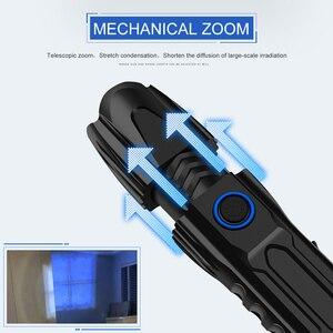Image 2 - 5 מצב XHP90.2 עוצמה LED פנס רכיבה שיירת אור 50000lm פנס טקטי קמפינג Waterproof פנס לפיד בריחה