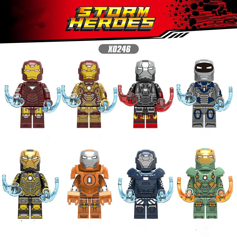 Legoing marvel Big Size Ironmen Building Blocks bricks Toy For Kids