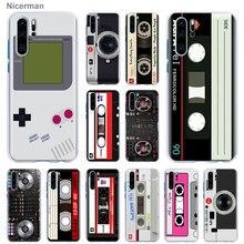 retro mix cassette tape volume Camera Case Cover for Huawei P10 P20 P30 P40