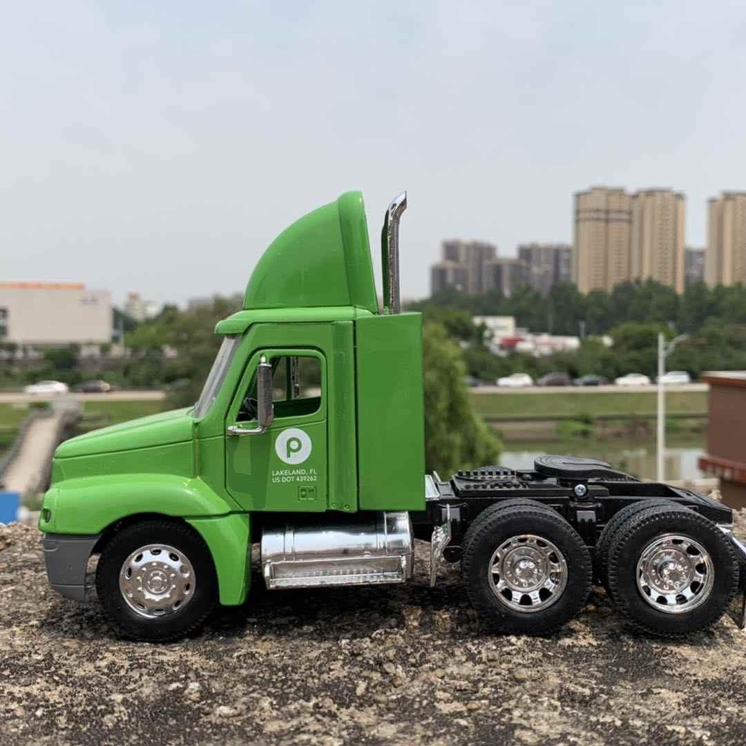 NEWRAY 1/32 Scale Truck Modell Freightliner Century Class Lkw 20cm Länge Diecast Metall Auto Modell Spielzeug Für Geschenk, kinder