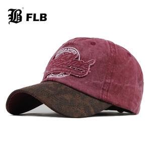 Baseball-Caps Snapback Embroidery Men Cap Dad-Hat FLB Casual Cap Streetwear-Style