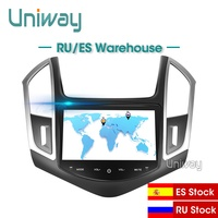 Uniway AXKLZ8071 2 din android 9.0 car dvd for Chevrolet Cruze 2013 2014 2015 car radio gps navigation with steering wheel