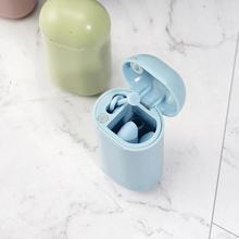 1 Pc Foldable Silicone Straw Portable Reusable Collapsible No Smell Heat Resistant Drinking With Storage Case Box