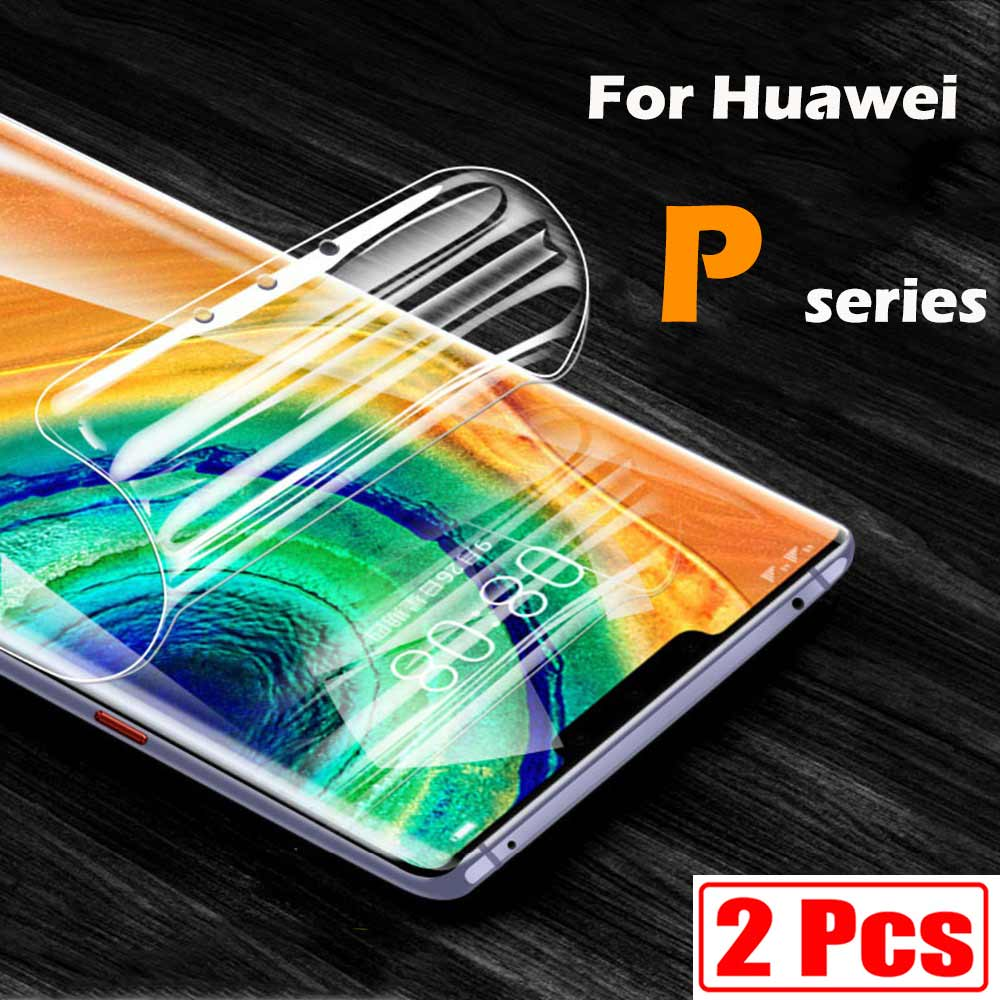 For Huawei p40 lite screen protector p smart 2021 2019 p30 pro p20 nova 5t p40lite p40pro psmart p30lite light lit soft flim