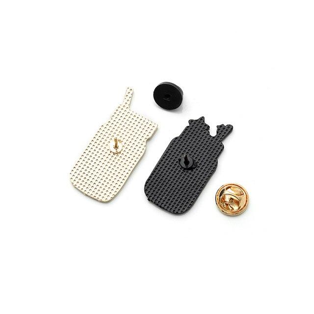 Boisson bouteille émail broche montagne étoile lune eau broches pour femmes hommes drôle tasse Badge sac à dos épinglettes bijoux en gros